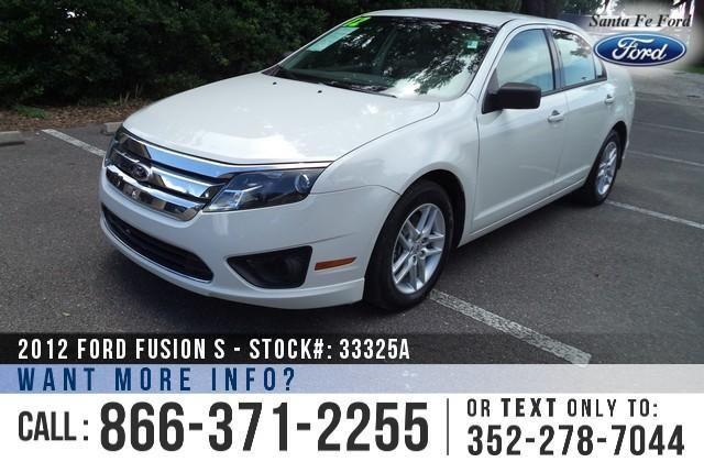 2012 Ford Fusion S - 39K Miles - On-Site Financing!