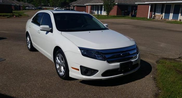 2012 ford fusion se for sale in lafayette mississippi classified. Black Bedroom Furniture Sets. Home Design Ideas