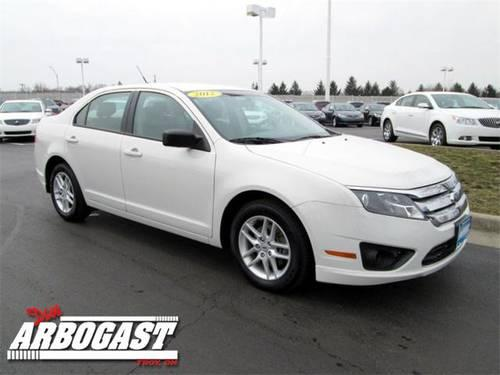 2012 ford fusion sedan s for sale in troy ohio classified. Cars Review. Best American Auto & Cars Review