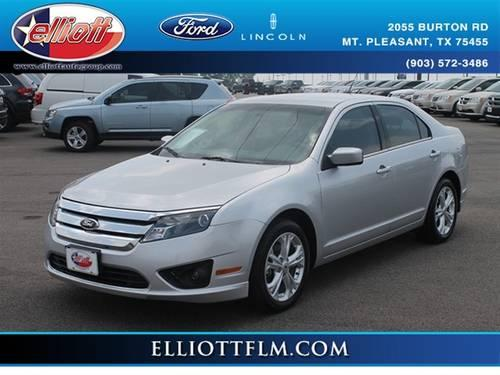 2012 ford fusion sedan se for sale in mount pleasant texas classified. Black Bedroom Furniture Sets. Home Design Ideas