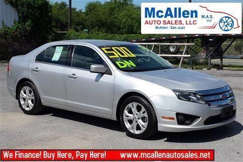 2012 ford fusion sedan se sedan 4d for sale in mcallen texas classified. Black Bedroom Furniture Sets. Home Design Ideas