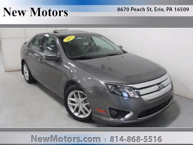 2012 ford fusion sel sel 4dr sedan for sale in erie pennsylvania classified. Black Bedroom Furniture Sets. Home Design Ideas