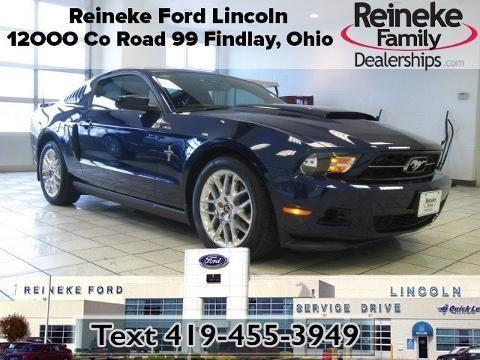 2012 ford mustang 2 door coupe for sale in findlay ohio classified. Black Bedroom Furniture Sets. Home Design Ideas