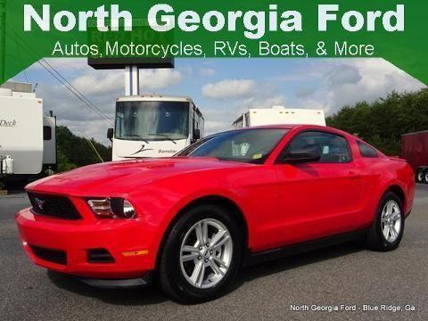 2012 ford mustang 2 door coupe for sale in blue ridge georgia classified. Black Bedroom Furniture Sets. Home Design Ideas