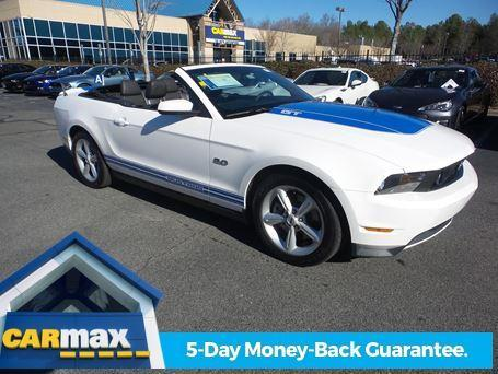 2012 Ford Mustang GT GT 2dr Convertible