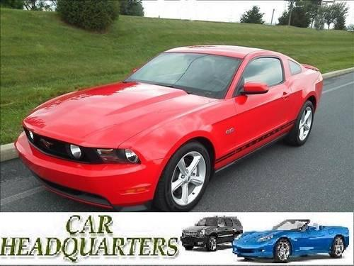 2012 ford mustang premium gt 5 0 coupe v 8 automatic 6 speed for sale in newburgh new york. Black Bedroom Furniture Sets. Home Design Ideas