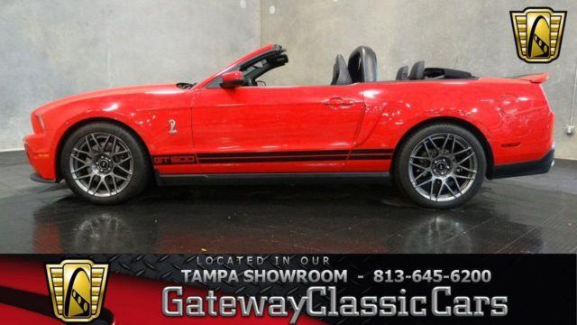 2012 ford mustang shelby gt500 387tpa for sale in apollo beach florida classified. Black Bedroom Furniture Sets. Home Design Ideas