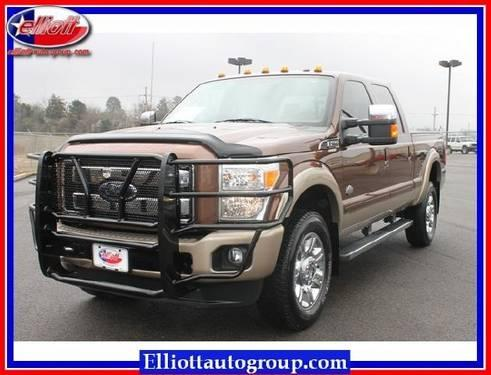 2012 Ford Super Duty F 350 Srw Pickup Truck For Sale In