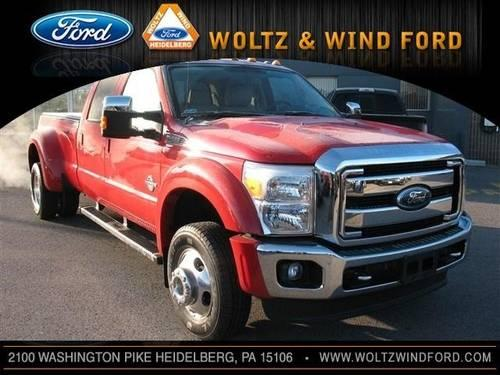 2012 ford super duty f 450 drw crew cab pickup lariat 4x4 diesel for. Black Bedroom Furniture Sets. Home Design Ideas