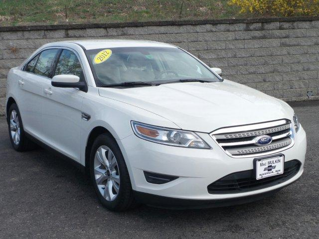2012 ford taurus sel sel 4dr sedan for sale in nashua new. Black Bedroom Furniture Sets. Home Design Ideas