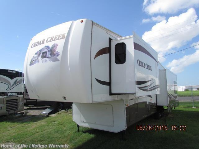 2012 Forest River Cedar Creek 36re Fifth Wheel For