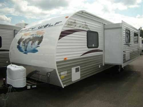 2012 Forest River Grey Wolf 28bhs Travel Trailer In