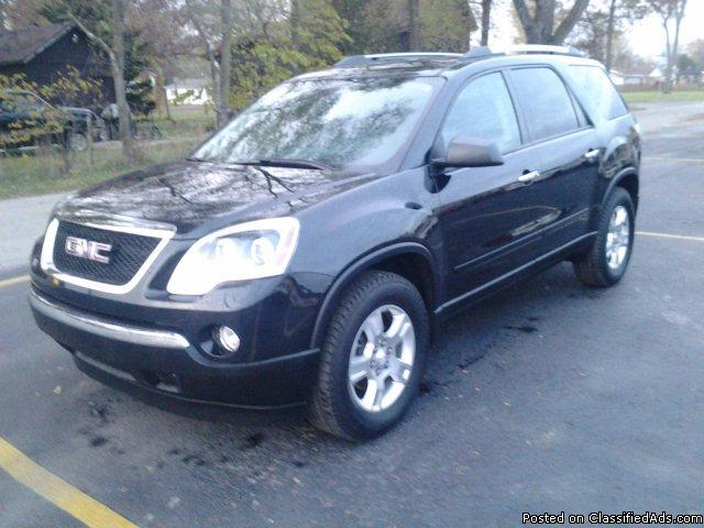 2012 gmc acadia 2wd for sale in bass lake indiana classified. Black Bedroom Furniture Sets. Home Design Ideas