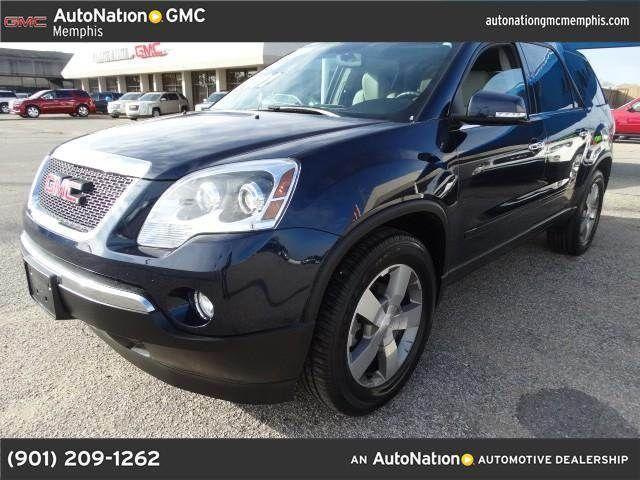 2012 gmc acadia for sale in memphis tennessee classified. Black Bedroom Furniture Sets. Home Design Ideas