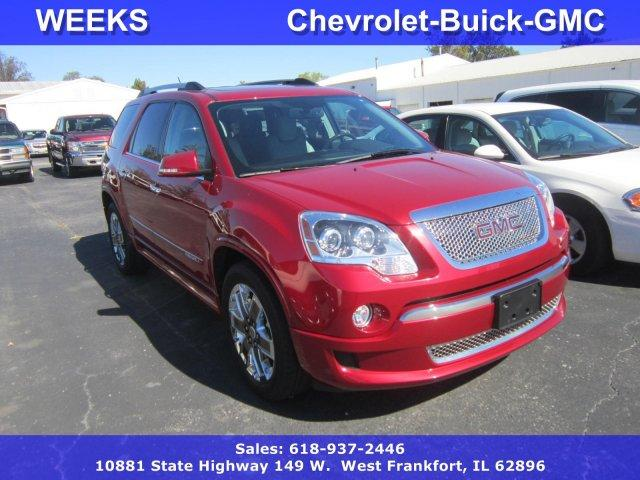 2012 gmc acadia denali 4dr suv for sale in deering illinois classified. Black Bedroom Furniture Sets. Home Design Ideas