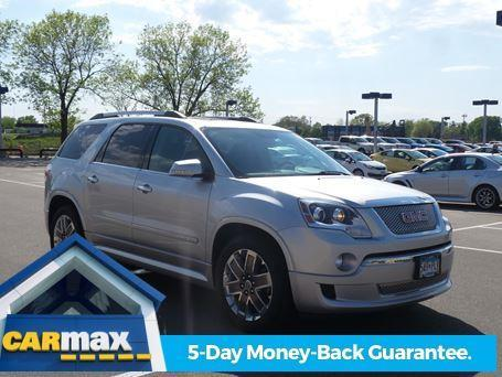 2012 gmc acadia denali awd denali 4dr suv for sale in minneapolis minnesota classified. Black Bedroom Furniture Sets. Home Design Ideas