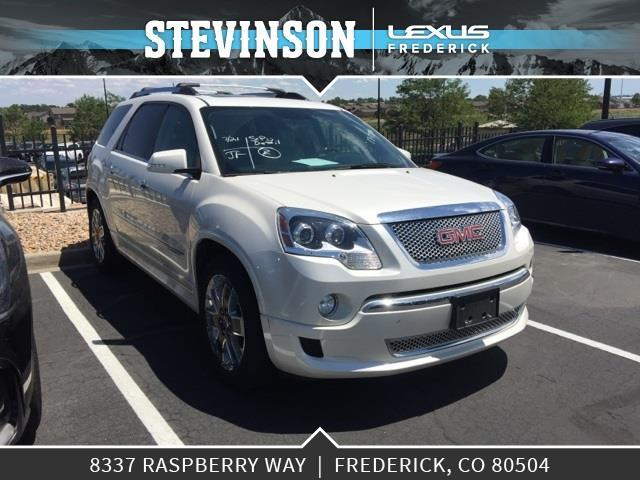 2012 gmc acadia denali awd denali 4dr suv for sale in longmont colorado classified. Black Bedroom Furniture Sets. Home Design Ideas
