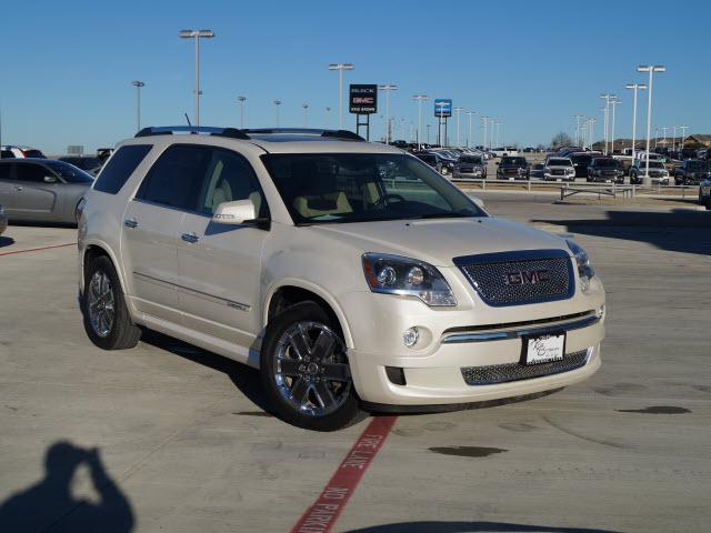 2012 gmc acadia denali cleburne tx for sale in cleburne texas classified. Black Bedroom Furniture Sets. Home Design Ideas