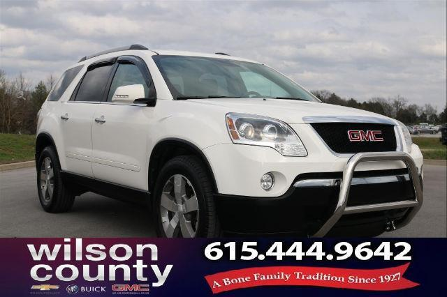 2012 gmc acadia slt 1 awd slt 1 4dr suv for sale in lebanon tennessee classified. Black Bedroom Furniture Sets. Home Design Ideas