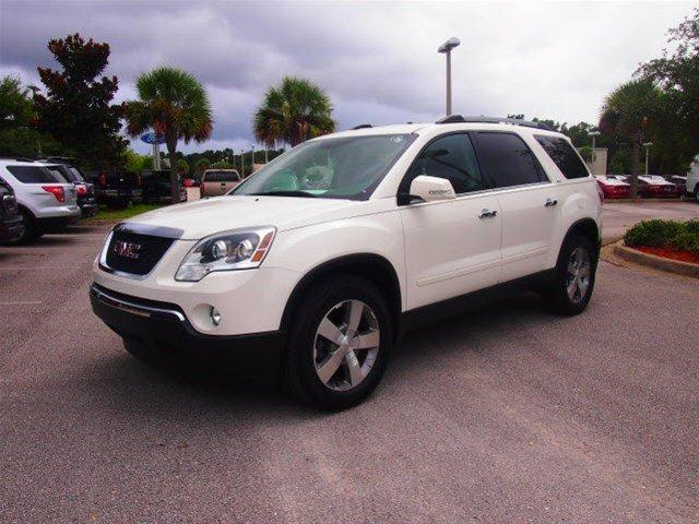 2012 Gmc Acadia Slt 1 Green Cove Springs Fl For Sale In