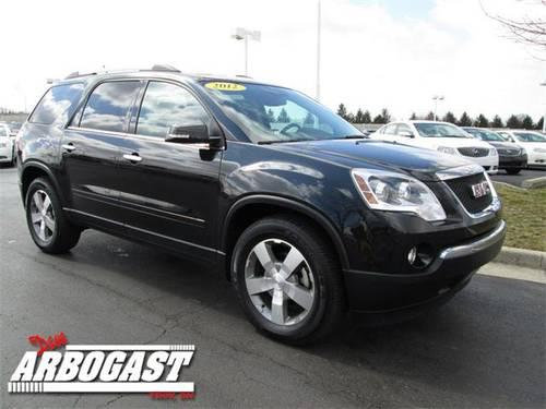 2012 gmc acadia suv slt 1 for sale in troy ohio classified. Black Bedroom Furniture Sets. Home Design Ideas