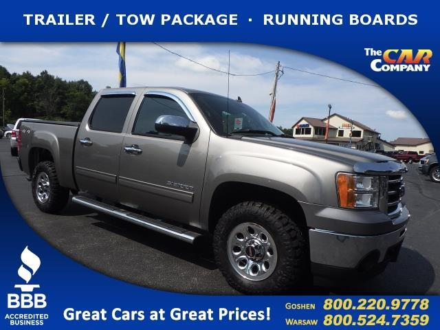 2012 gmc sierra 1500 sl 4x4 sl 4dr crew cab 5 8 ft sb for sale in warsaw indiana classified. Black Bedroom Furniture Sets. Home Design Ideas