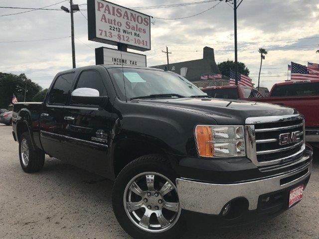 2012 gmc sierra 1500 sle 4x2 sle 4dr crew cab 5 8 ft sb for sale in houston texas classified. Black Bedroom Furniture Sets. Home Design Ideas