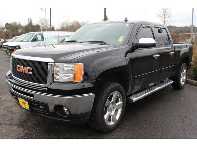 2012 gmc sierra 1500 sle 4x4 sle 4dr crew cab 5 8 ft sb for sale in monroe washington. Black Bedroom Furniture Sets. Home Design Ideas