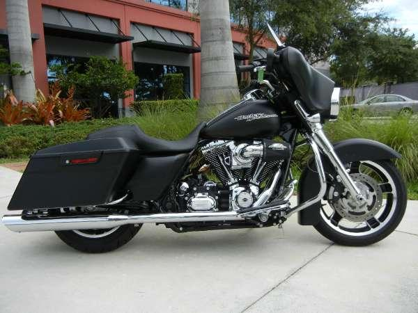 2012 harley davidson flhx street glide for sale in davie florida classified. Black Bedroom Furniture Sets. Home Design Ideas
