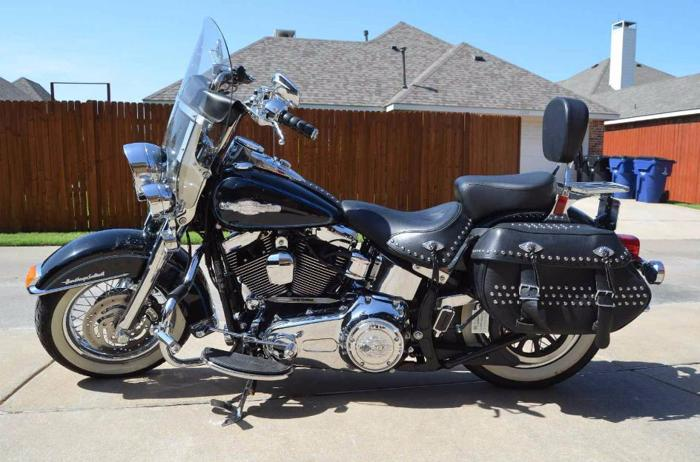 2012 HD Heritage Softail Peace Officers Edition