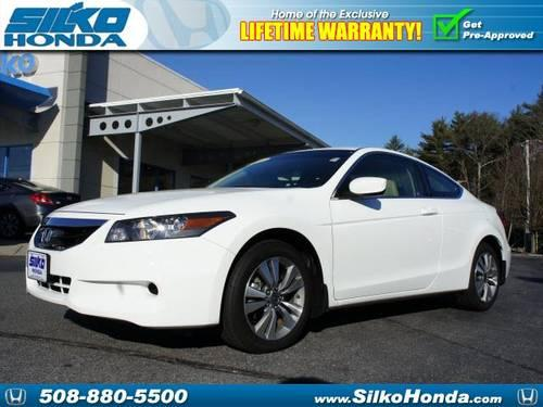 2012 honda accord 2 dr coupe ex l for sale in raynham. Black Bedroom Furniture Sets. Home Design Ideas