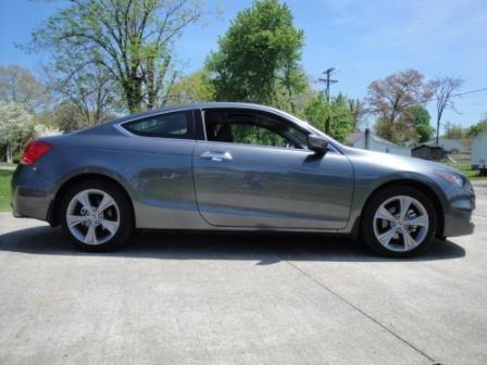 2012 Honda Accord Coupe Ex L V6 Charcoal Auto 24k Mi For