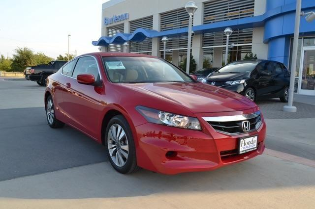 2012 honda accord cpe 2dr car ex for sale in burleson. Black Bedroom Furniture Sets. Home Design Ideas