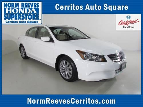 2012 HONDA Accord Sdn Sedan 4dr I4 Auto EX-L