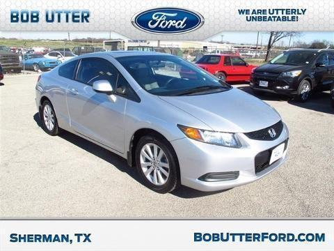 2012 honda civic 2 door coupe for sale in sherman texas classified. Black Bedroom Furniture Sets. Home Design Ideas