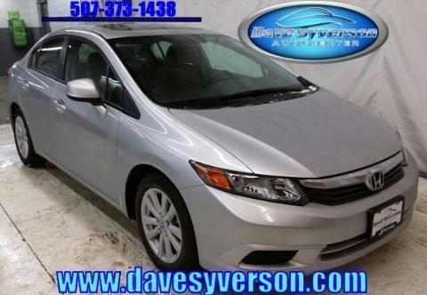 2012 honda civic 4 door sedan for sale in albert lea minnesota classified. Black Bedroom Furniture Sets. Home Design Ideas