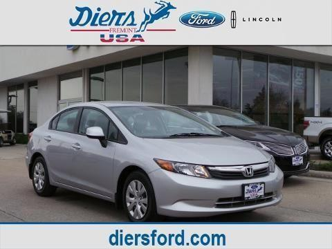 2012 honda civic 4 door sedan for sale in fremont for Honda fremont auto mall