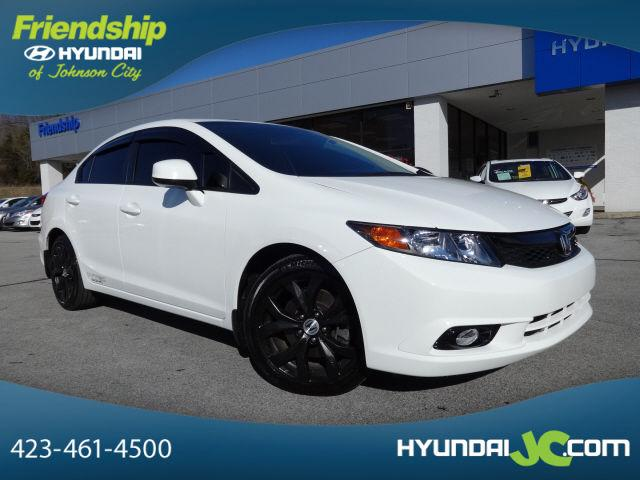 2012 honda civic 4 dr sedan si for sale in johnson city tennessee classified. Black Bedroom Furniture Sets. Home Design Ideas