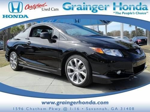 2012 honda civic cpe 2dr car si for sale in savannah georgia classified. Black Bedroom Furniture Sets. Home Design Ideas