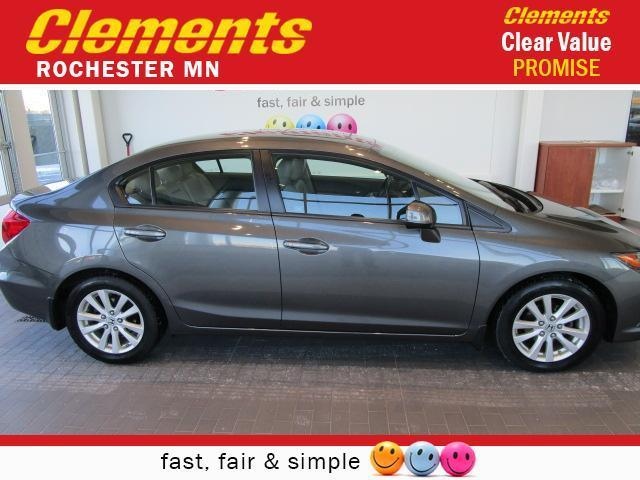 2012 honda civic ex l ex l 4dr sedan for sale in rochester minnesota classified. Black Bedroom Furniture Sets. Home Design Ideas