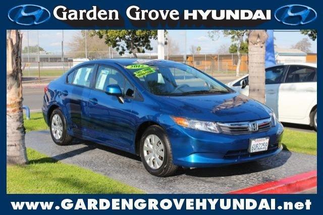 2012 Honda Civic Lx Garden Grove Ca For Sale In Garden