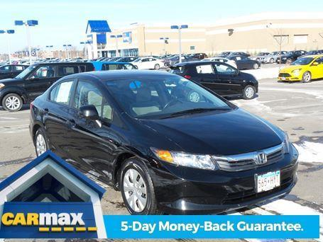 2012 Honda Civic LX LX 4dr Sedan 5A