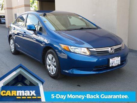 2012 Honda Civic LX LX 4dr Sedan 5A