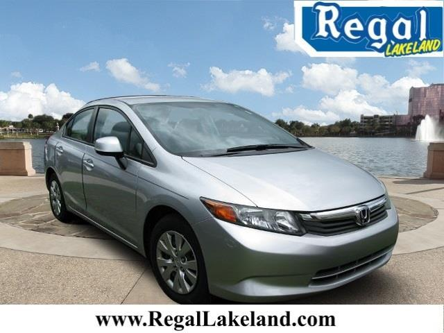 2012 honda civic lx lx 4dr sedan 5a for sale in lakeland. Black Bedroom Furniture Sets. Home Design Ideas
