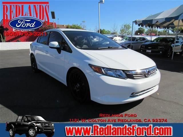 2012 honda civic lx sedan 4d for sale in redlands for Honda of redlands
