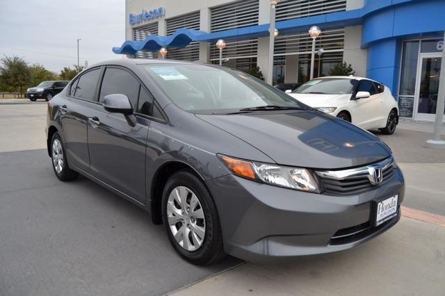 2012 honda civic sdn 4dr car lx for sale in burleson texas classified. Black Bedroom Furniture Sets. Home Design Ideas
