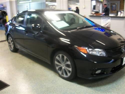 2012 honda civic sdn 4dr car si for sale in lake george wisconsin classified. Black Bedroom Furniture Sets. Home Design Ideas