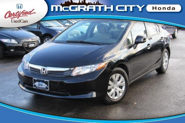 2012 honda civic sdn lx 4dr sedan 5a for sale in chicago for Honda civic for sale in chicago