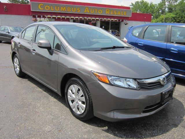 2012 honda civic sedan lx for sale in darbydale ohio. Black Bedroom Furniture Sets. Home Design Ideas