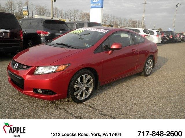 2012 Honda Civic Si Si 2dr Coupe